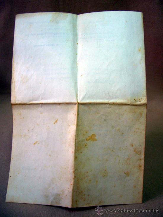 Documentos antiguos: DOCUMENTO, DOCUMENTO ANTIGUO, TITULO DE ENCARGADO INTERNO DEL RELOJ PUBLICO, 1901 - Foto 2 - 35377393