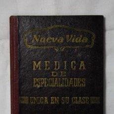 Documentos antiguos: CARNET DE NUEVA VIDA MEDICA DE ESPECIALIDADES UNICA EN SU CLASE - BARCELONA. Lote 35391535