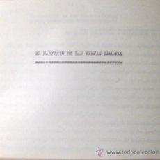 Documentos antiguos: SALVADOR RIPOLL. EL MARTIRIO DE LA VIEJAS ERMITAS. STA. MARINA DE PRATDIP. COPIA ORIGINAL + FOTOGRAF. Lote 35560699