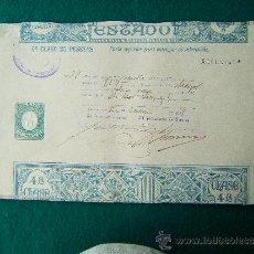 Documentos antiguos: PAPEL TIMBRADO - 5 IMPRESOS - PAGOS AL ESTADO - CLASE 4-7-9-10-11- TIMBROLOGIA - 1918 . Lote 35721631