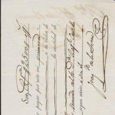 Documentos antiguos: LETRA DE CAMBIO CON MEMBRETE, POR 2500 REALES DE V. CORDOBA 1857.PAGADERA EN SEVI-. Lote 35824853