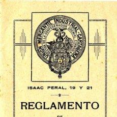 Documentos antiguos: CARTAGENA, OPÚSCULO CIRCULO UNIÓN MERCANTIL. Lote 35750389
