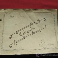 Documenti antichi: TRABAJO DE CALIGRAFIA DEL COLEGIO DE LA COMPAÑIA DE MARIA - SEVILLA. Lote 35989518