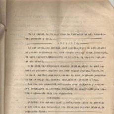 Documentos antiguos: 1946 ELCHE (ALICANTE) DOCUMENTO PRIVADO COMPRAVENTA. JEFE DE LA POLICIA MUNICIPAL. Lote 36197557