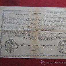 Old Documents - INDULTO APOSTOLICO DE LA LEY DE ABSTINENCIA Y AYUNO - BENEDICTO XV - 1927 - 36227867