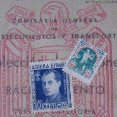 Documentos antiguos: CARTILLA-COLECCIÓN DE CUPONES DE RACIONAMIENTO PAN. ACEITE. ARROZ. AZUCAR. VARIOS. 1952.. Lote 36291696