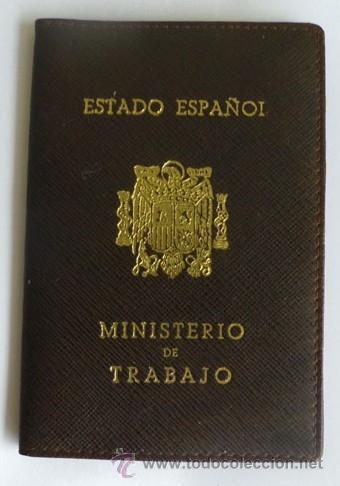 CARTERA DE DOCUMENTOS MINESTRIO DEL TRABAJO - ESTADO ESPAÑOL - VACIA (Coleccionismo - Documentos - Otros documentos)