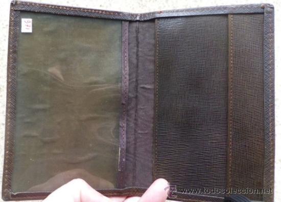 Documentos antiguos: cartera de documentos minestrio del trabajo - estado español - vacia - Foto 3 - 36950973