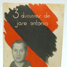 Documentos antiguos: EJEMPLAR 3 DISCURSO DE JOSÉ ANTONIO PRIMO.. Lote 37244557