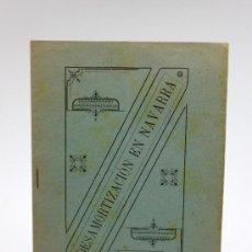 Documentos antiguos: DESAMORTIZACIÓN EN NAVARRA, APO 1899.. Lote 37272267