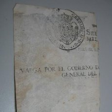 Documentos antiguos: SELLO ORIGINAL AÑO 1800 APROX - TIPO EXLIBRIS - CARLOS IV CAROLUS IV. Lote 37353423