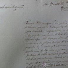 Documentos antiguos: GALICIA CASTIGO A ESTANQUEROS. Lote 37609075