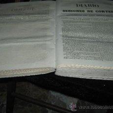 Documentos antiguos: TOMO CON EL DIARIO DE LAS SESIONES DE LAS CORTES - CONGRESO DE LOS DIPUTADOS - MARZO 1859 - COMPLETO. Lote 37887547