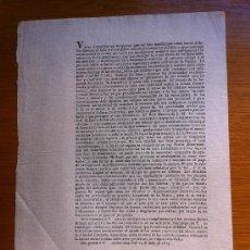 Documentos antiguos: GUERRA INDEPENDENCIA CATALUÑA, VICH. 1813. PRESIDENTE VALENTIN LLOZER CALDERS. AYUNTAMIENTOS.. Lote 38849090
