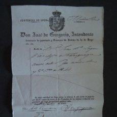 Alte Dokumente - GALICIA.LUGO. TRASPARGA. 'CARTA DE PAGO' 1845 - 39572459