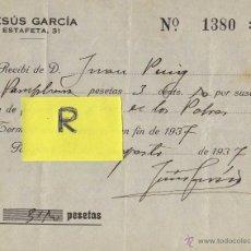 Documentos antiguos: DIA PLATO UNICO NAVARRA 1938 GUERRA CIVIL. Lote 39791656