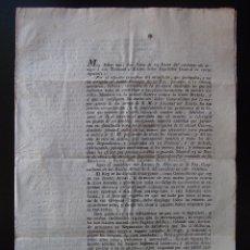 Documentos antiguos: CARTA AÑO 1805 ANUNCIANDO GUERRA CONTRA LOS INGLESES POR DON CIRCO VALLS Y GELI. Lote 40188083