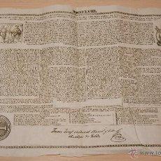 Documentos antiguos: SUMARIO DE LAS FACULTADES, INDULGENCIAS Y GRACIAS DE PIO IX - SANTA CRUZADA 1858. Lote 40743325