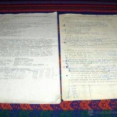 Documentos antiguos: INVENTARIO CASA TÍA ASCENSIÓN. 17 PÁGINAS MECANOGRAFIADAS. MINUCIOSO, CON PRECIOS Y VENTAS.. Lote 41021740
