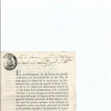 Documentos antiguos: GASTOS DE CORREO, ESCRITORIO E IMPRENTA DE LAS JUNTAS DE PARTIDO. 1817. CORUÑA. Lote 41679991