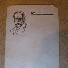 Documentos antiguos: ANTIGUA FICHA DE SINDICATO UGT - CON SELLO -. Lote 41723848