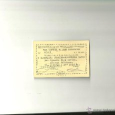 Documentos antiguos: 3202.- RED NACIONAL DE LOS FERROCARRILES ESPAÑOLES-RENFE-PASE DE LIBRE CIRCULACION-OFICIAL OFICINAS. Lote 42276125