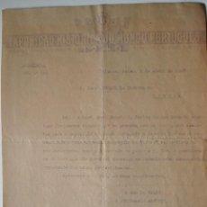 Documentos antiguos: CARTA DIRIGIDA A CARLOS BUIGAS SANS, EXPO LISBOA 1940 . Lote 42287935