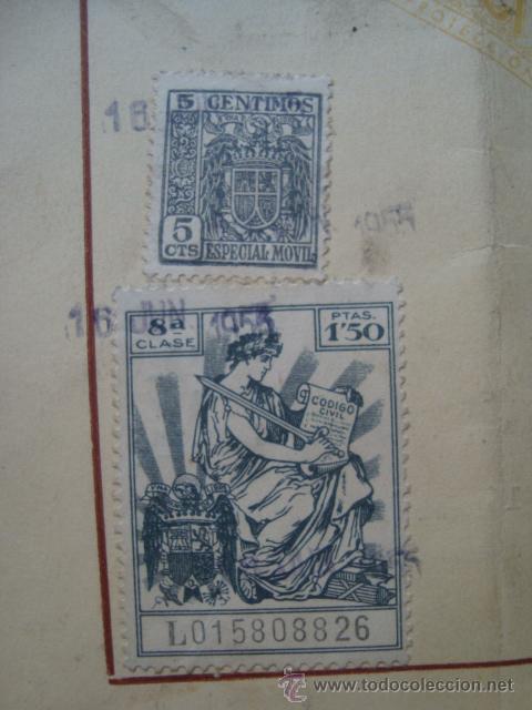 Documentos antiguos: Detalle. - Foto 4 - 42375592