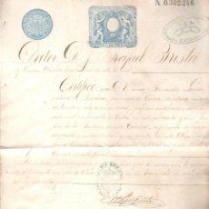Documentos antiguos: CERTIFICADO DE BUENA CONDUCTA. CUBA. SANTA CLARA. 1897. Lote 42704276