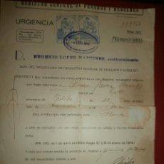 Documentos antiguos: REGISTRO CENTRAL DE PENADOS Y REBELDES - 1936 - CERTIFICADO DE PENALES -. Lote 43261120