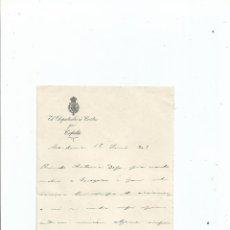 Documentos antiguos: CARLISMO FRANCISCO JAVIER BRETÓN RADA JEFE CARLISTA MERINDAD DE TAFALLA NAVARRA ALFARO. Lote 43321558