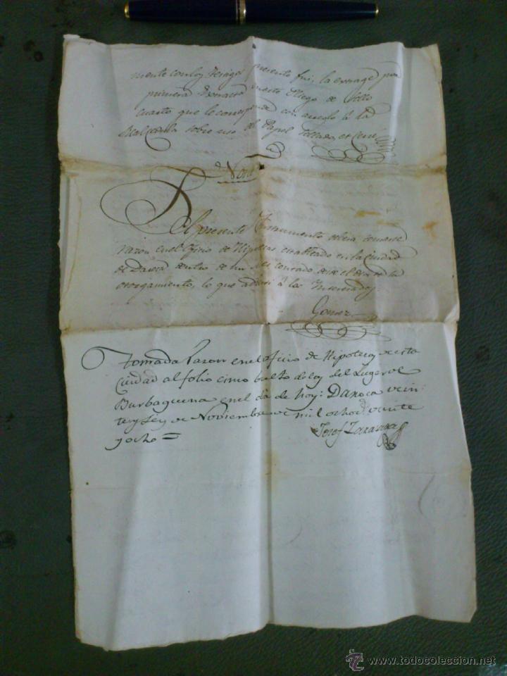 Documentos antiguos: BURBÀGUENA, TERUEL, AÑO 1828. COMPRA VENTA DE UNA CASA, DOCUMENTO 2 HOJAS - Foto 5 - 43397146