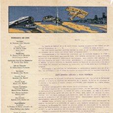 Documentos antiguos: TARIFAS CORREOS - AGENCIA JOFRE DOCUMENTO ANTIGUO. Lote 43584009