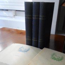 Documentos antiguos: PLAN GENERAL OBRAS PUBLICAS 1940, 3 VOLUMENES Y MAPAS. Lote 43694556