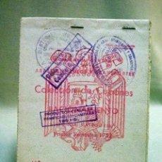 Documentos antiguos: CUPONES DE RACIONAMIENTO, COLECCION DE CUPONES DE RACIONAMIENTO, 1951, SERIE V, ARROZ. Lote 44283683