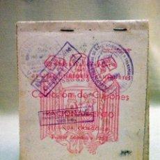 Documentos antiguos: CUPONES DE RACIONAMIENTO, COLECCION DE CUPONES DE RACIONAMIENTO, 1952, SERIE V, ARROZ. Lote 44283734