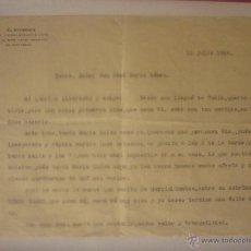 Documentos antiguos: 11 JULIO 1936 BASE NAVAL CARTAGENA. DOCUMENTO DE DIAS ANTES DEL COMIENZO GUERRA CIVIL.. Lote 44429676