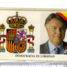 Documentos antiguos: CARNET DE FELIPE GONZALEZ MARQUEZ, PRESIDENTE DEL GOBIERNO P.S.O.E. Lote 44838476