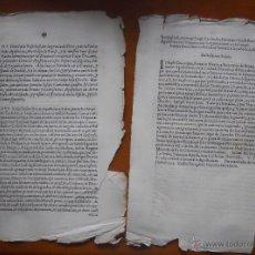Documentos antiguos: PRESENTACION TITULO NOTARIO MAYOR Y SECRETARIO BREVES Y COMISIONES APOSTOLICOS, 4 PAG, 1650. Lote 45390805