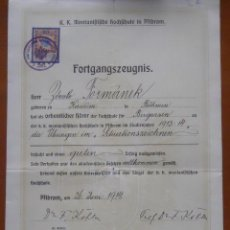 Documentos antiguos: SEGURO INCENDIOS ALAVA 1908. Lote 45391013