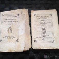 Documentos antiguos: CUADERNOS 4º Y 5º DE LA BIBLIOTECA UNIVERSAL ECONOMICA SECCIÓN INSTRUCTIVA DE 1860. Lote 45428359