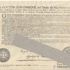 Old Documents - Indulto ayuno y abstinencia. Año 1960. - 45598275