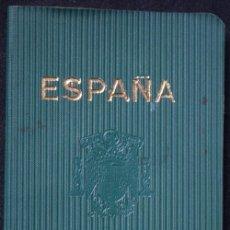Documentos antiguos: PASAPORTE ESPAÑA 1959 - VISADOS FRANCIA Y BÉLGICA - NACIMIENTO 1894. Lote 45716841