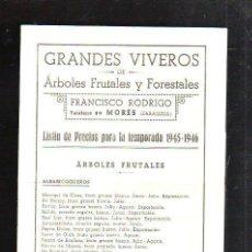 Grandes viveros de arboles frutales y forestale comprar for Libro viveros forestales