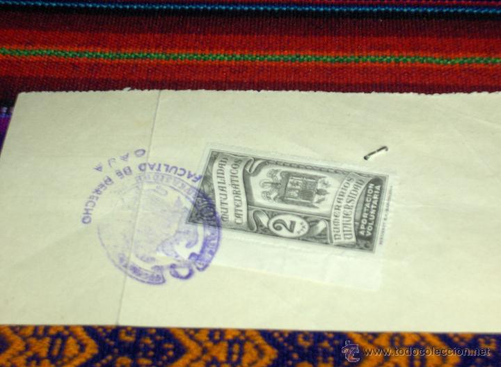 Documentos antiguos: POR DETRÁS. - Foto 2 - 45722723