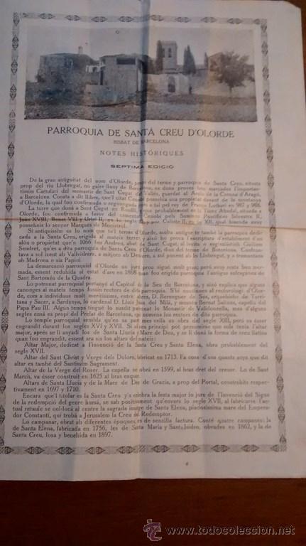 Documentos antiguos: GOIGS / EN LLOHANSA DE LA SANTA CREU / 7ª Edició / 1921 - Foto 2 - 45724719
