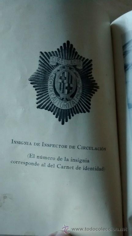 Documentos antiguos: REGLAMENTO GENERAL DE CIRCULACIÓN URBANA / BARCELONA / ILUSTRADO / 1ª Edición / 1933 - Foto 3 - 45725605
