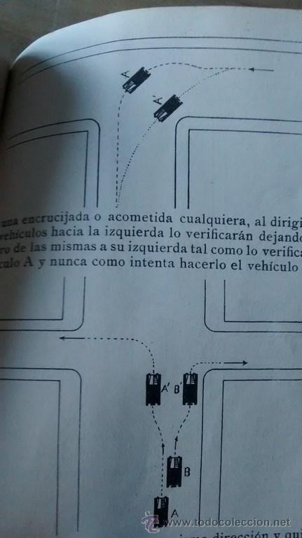 Documentos antiguos: REGLAMENTO GENERAL DE CIRCULACIÓN URBANA / BARCELONA / ILUSTRADO / 1ª Edición / 1933 - Foto 8 - 45725605