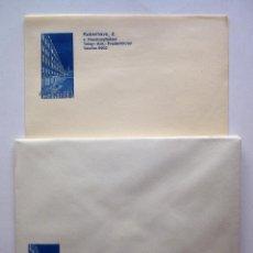 Documentos antiguos: LOTE PAPEL Y SOBRES HOTEL KONG FREDERIK. COPENHAGUE (DINAMARCA), AÑOS 40. Lote 45907772