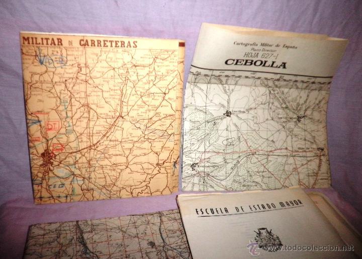 Documentos antiguos: DOCUMENTOS ESTADO MAYOR MILITAR - COMBATE OFENSIVO - AÑO 1955. - Foto 2 - 46070103